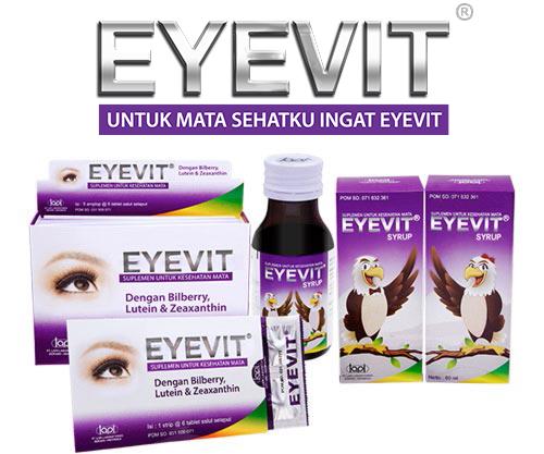 Harga Eyevit Tablet dan Eyevit Syrup Anak di Apotik