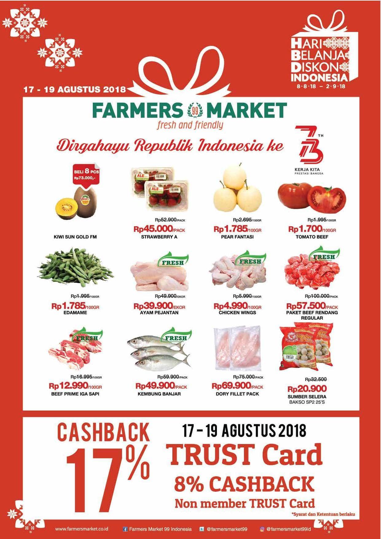 Katalog Promo Akhir Pekan Terbaru Farmers Market Jakarta