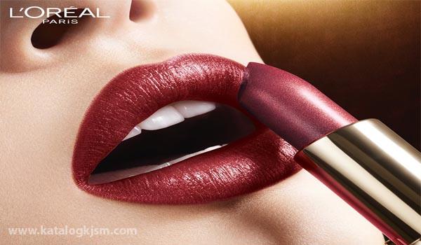 Daftar Harga Lipstick L'Oreal Paris dan Gambarnya Terbaru