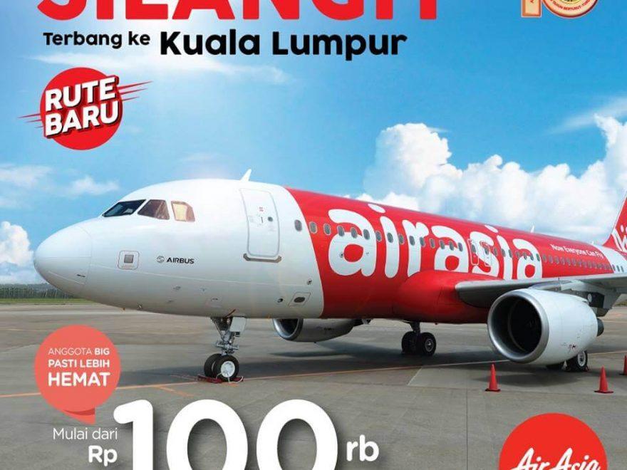 Daftar Harga Promo Air Asia Terbaru