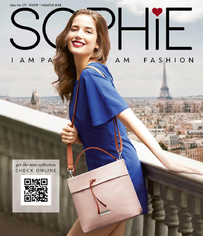 Katalog Promo Sophie Paris Agustus 2018