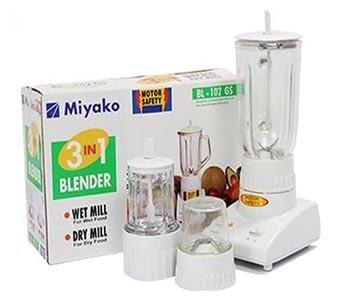Miyako Blender BL-102GS 3 In 1