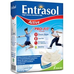 Entrasol Active, harga susu entrasol