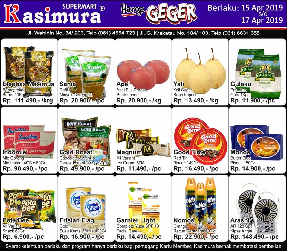 Katalog Promo Harga Geger Kasimura Supermart Terbaru 15 Apr 2019