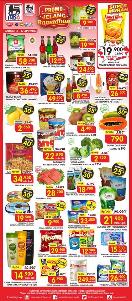 Katalog Promosi Super Indo Terbaru 15 Apr 2019