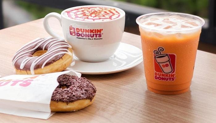harga dunkin donuts