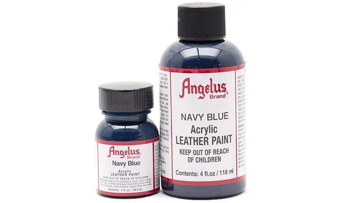 Angelus Acrylic Leather Paint, daftar produk cat akrilik