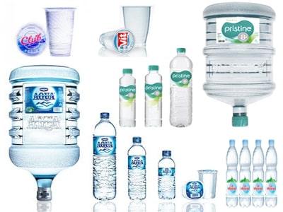 Harga air mineral