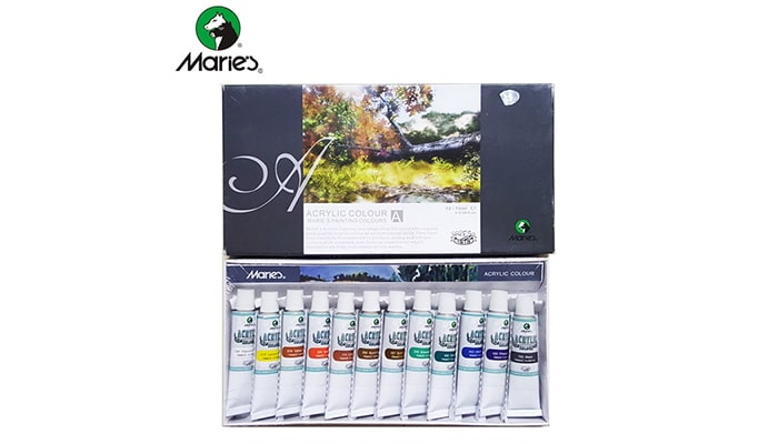 Marie's Acrylic Colours