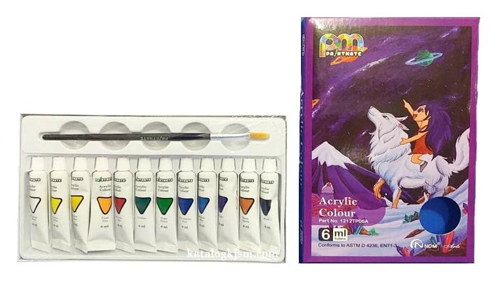 Paintmate Acrylic Colour Set