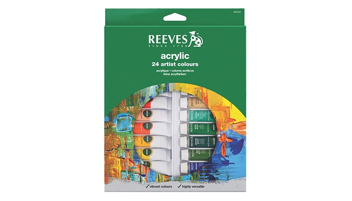 Reeves 24 Acrylic Color Set