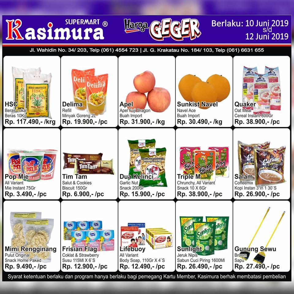 Katalog Promo Harga Geger Kasimura Supermart Terbaru 10 Juni 2019