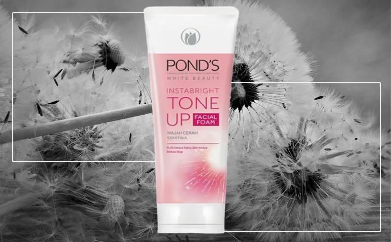 Ponds Facial Foam Instabright Tone Up