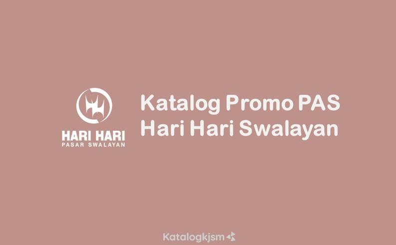 Katalog Hari Hari Pasar Swalayan Promo PAS