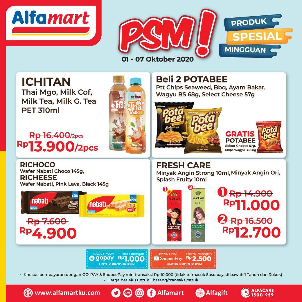 Katalog Promo Weekday Alfamart Psm Terbaru 01 07 Oktober 2020
