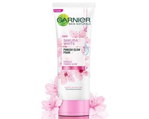 Garnier Sakura White Cleanser Facial Foam