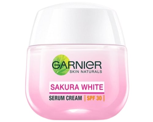 Garnier Sakura White Serum Day Cream SPF30