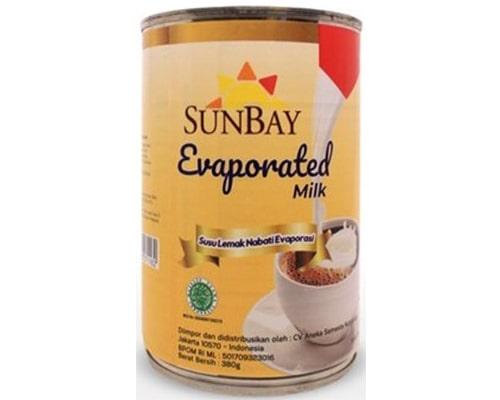 Sunbay Evaporated Milk
